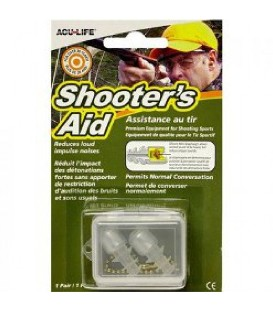 TAPONES PROTECTORES SHOOTER'S AID