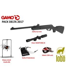 PACK CARABINA GAMO DELTA 2017 C/4.5